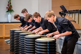 Bild: Die Weberknechte - das Percussion-Ensemble