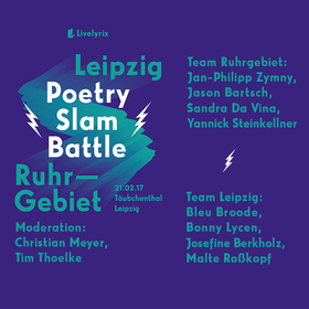 Bild: Livelyrix Poetry Slam Battle - Leipzig vs. Ruhrgebiet