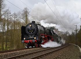 """Bild: Dampfsonderzug """"Brohltal-Express"""" - ab Frankfurt Südbahnhof und Rüsselsheim"""