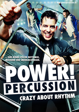 Bild: POWER! PERCUSSION - DIE CRAZY ABOUT RHYTHM - Tour 2017