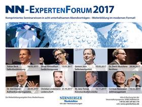 Bild: NN-ExpertenForum Vortragsreihe 2017 - 8er Abo