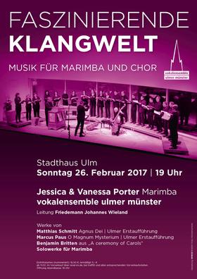Bild: Faszinierende Klangwelt - Musik für Marimba und Chor