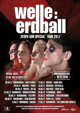 Bild: Welle: Erdball - Vespa 50N Special Tour 2017