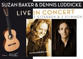 Bild: Suzan Baker & Dennis Lüddicke -                                    2 Stimmen und 2 Gitarren - Hör.Bar Konzert