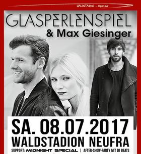 Bild: Waldstadion Open Air - Glasperlenspiel + Max Giesinger & Band