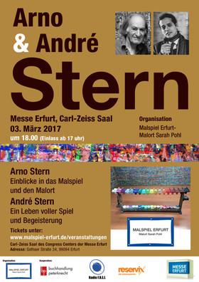 Bild: Ein Vortragsabend mit Arno und André Stern in Erfurt - Arno Stern: Der Malort und das Malspiel/ André Stern: Ein Leben voller Spiel und Begeisterung