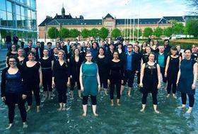 Bild: Festival-WarmUp zur 17. Internationalen A-cappella-Woche Hannover: - Mariagerfjord Pigekor trifft die Vivid Voices