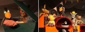 """Das Figuren Theater Schnuppe zeigt das Stück """"Der kleine Rabe Socke"""""""