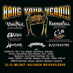 Bild: Bang Your Head!!! Festival 2017 - Kombiticket (3 Tage) 2017