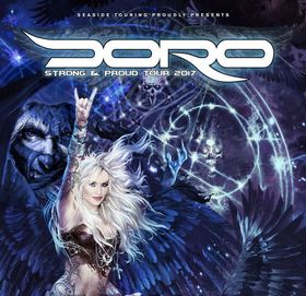 Bild: DORO - STRONG & PROUD TOUR 2017