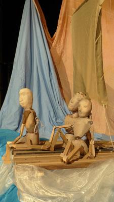 Bild: PuppenTheaterTeufel im T-Werk zeigen: