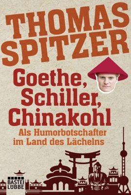 """Bild: Thomas Spitzer liest aus """"Goethe, Schiller, Chinakohl"""""""