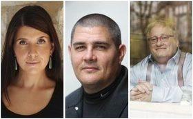 Bild: Amerikanische Literaturnacht - Molly Antopol, Adam Johnson, Tuvia Tenenbom