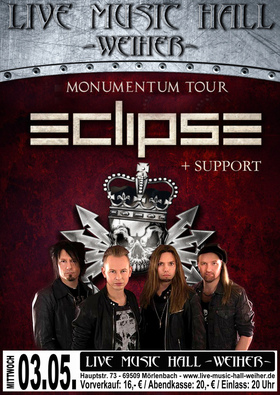 Bild: Eclipse -Monumentum Tour 2017 - + Support