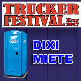 Bild: Trucker- & CountryFestival - Dixi Miete - Bitte Vorhängeschloss mitbringen
