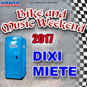 Bild: Bike and Music Weekend - Dixi Miete - Bitte Vorhängeschloss mitbringen