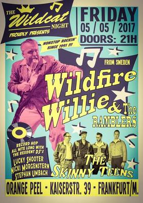 Bild: WILDFIRE WILLIE & THE RAMBLERS (SWE) - Special Guest: The Skinny Teens