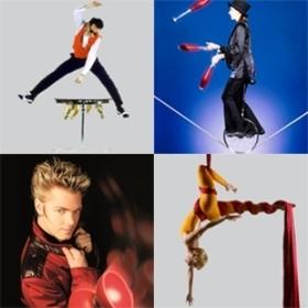 Bild: Varietéshow der Spitzenklasse - Unterhaltung pur mit Akrobatik und Musik