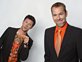 Bild: SiDE KiCK – Late-Night-Kabarett mit Jakob Nacken & Helge Thun - Premiere!