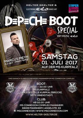 Bild: Depeche Boot Special inkl. Super Schwarzes Mannheim - DJ-Set Marcus Meyn (Camouflage)