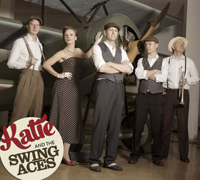 "Bild: Katie & The Swing Aces - ""Great Gatsby Party"""