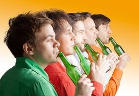 Bild: GlasBlasSing Quintett - Süßer die Flaschan nie klingen