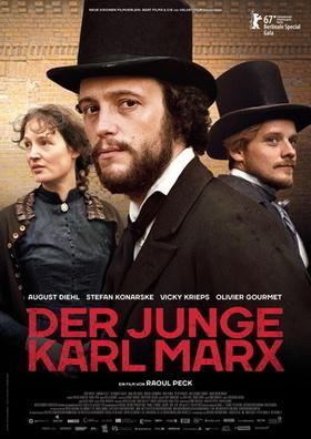 Bild: Der junge Karl Marx - Premiere mit Sekt und Brezel in Anwesenheit von Schauspieler Stefan Konarske