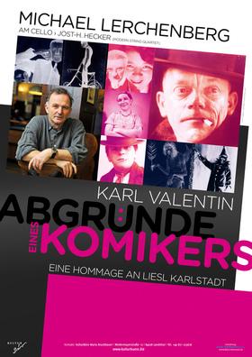 Bild: Michael Lerchenberg & Jost-H. Hecker: Karl Valentin -Abgründe eines Komikers