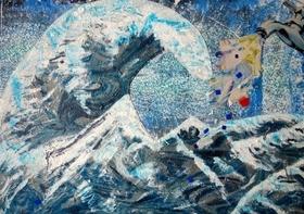 Bild: Wasser ist Leben - Ausstellung mit Werken von Anne Bölling-Ahrens und Mechthild Hartmann-Schäfers