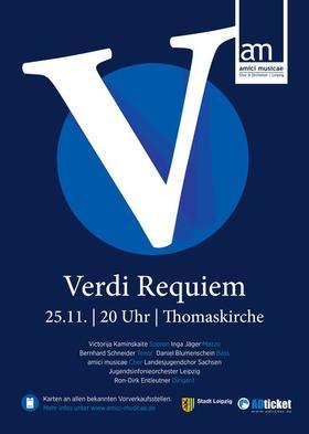 """Bild: Giuseppe Verdi: Messa da Requiem - Herbstprojekt der """"amici musicae"""" 2017"""