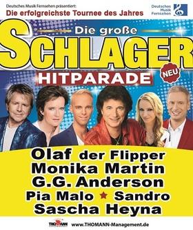 Bild: Deutsches Musikfernsehen präsentiert: Die große Schlager Hitparade 2018 - Moderation: Sascha Heyna