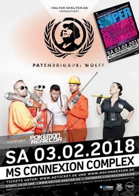 Bild: Patenbrigade: Wolff inkl. Super Schwarzes Mannheim