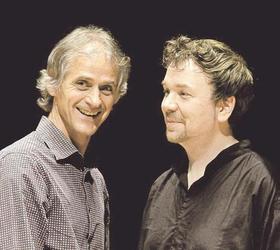 Bild: Markus Stockhausen & Florian Weber - Christmas Jazz im FORUM Merzhausen