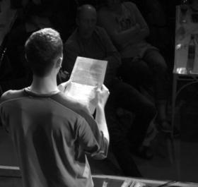 Bild: Poetry Slam - 4. Wetterauer Kreismeisterschaft (Halbfinale I)