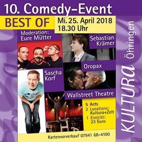 10. Comedy-Event, Start: Zelt