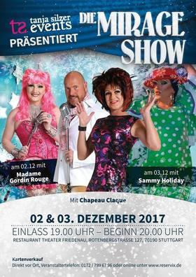 Bild: Die Mirage Show Weihnachtsshow - Restaurant Theater Friedenau