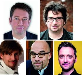 Bild: 1. Schorndorfer Lachnacht - mit Ole Lehmann, Hennes Bender, Lutz von Rosenberg Lipinsky, Frederic Hormuth, & Daniel Helfrich