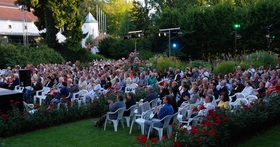 Bild: Open Air Kino Rosengarten