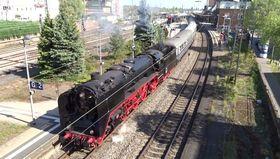 Bild: Dampfsonderzugfahrten Rhein-Main