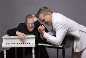 Bild: David & Götz die Showpianisten -