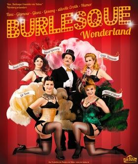 Bild: Burlesque-Ensemble rote Bühne: Burlesque Wonderland
