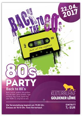 Bild: Back to the 80`s – LöwenEXTRA - Die größten Hits der 80iger Jahre erleben.