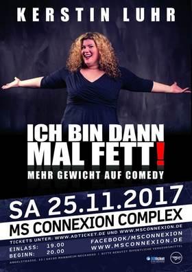 Bild: Kerstin Luhr - Ich bin dann mal fett! - Mehr Gewicht auf Comedy