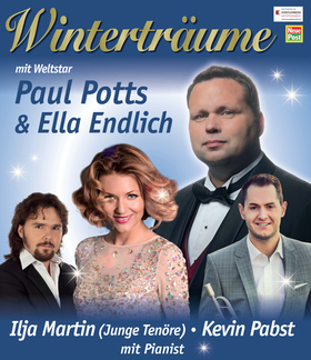 Bild: Winterträume - Eine musikalische Reise ins Land der Träume - mit Paul Potts, Ella Endlich, Kevin Pabst und Ilja Martin