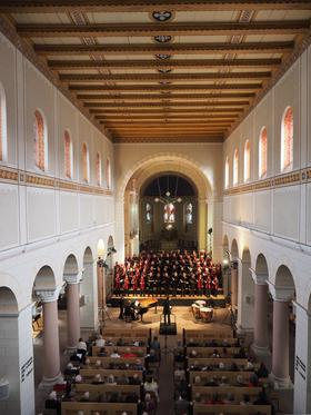 Bild: Festspielkonzert   Joh. Seb. Bach: Lutherische Messe  Arvo Pärt: Berliner Messe
