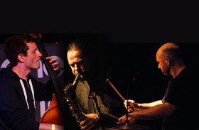 Bild: HIBY-BARDON-HESSION-TRIO (D/GB) - JAZZ