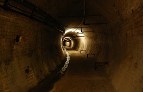 """Bild: Eintrittskarte Tour A – Der AEG-Versuchstunnel - Die """"Allgemeine Elektricitäts-Gesellschaft"""" und der erste U-Bahntunnel Deutschlands"""