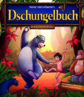 Bild: Dschungelbuch - das Musical - Das Musical-Highlight für die ganze Familie