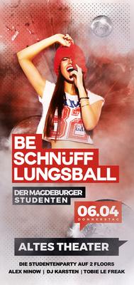 Bild: Beschnüfflungsball - Der Magdeburger Studenten