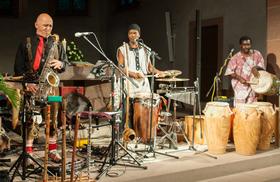 Bild: Worldmusic - Jazz meets Africa - Trio